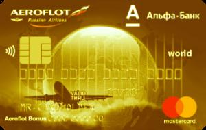 Альфа Банк Аэрофлот Gold