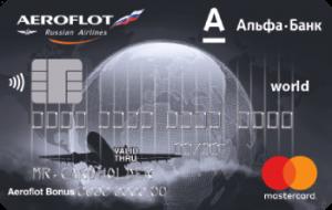 Альфа Банк Аэрофлот World