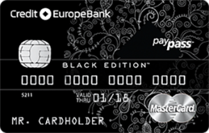 Кредит Европа Банк World MasterCard Black Edition