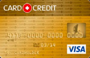 Кредит Европа Банк CARD CREDIT GOLD
