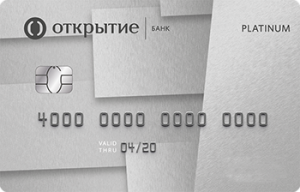 Банк Открытие Platinum