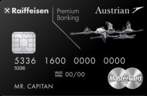 Райффайзенбанк Austrian Airlines Black Edition