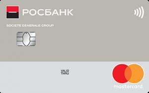 Росбанк Mastercard Standard
