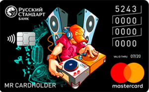 Банк Русский Стандарт Карта для подростков