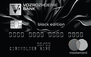 Банк Возрождение MasterCard Black Edition