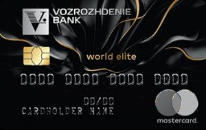 Банк Возрождение MasterCard World Elite