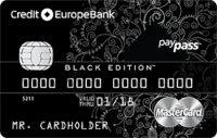Кредит Европа Банк World MasterCard Black Edition