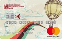 Московский Индустриальный банк MasterCard Standard PayPass
