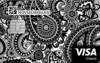 Новикомбанк Visa Classic