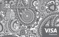 Новикомбанк Visa Platinum