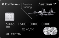 Райффайзенбанк Austrian Airlines Black Edition