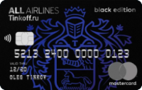 Тинькофф Банк ALL Airlines Black Edition