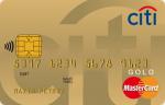 Ситибанк Citibank MasterCard Gold