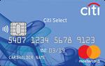 Ситибанк Citi Select