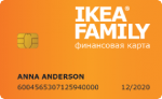 Кредит Европа Банк IKEA FAMILY
