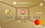 Банк Открытие ЛУКОЙЛ Золотая